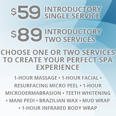Introductory Service Price Sirius Day Spa, Lodi